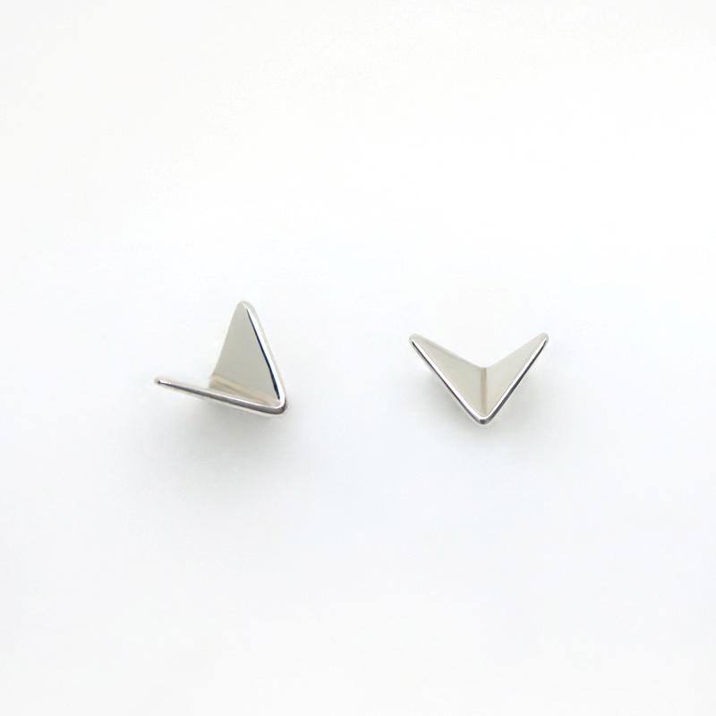 Paper Planes stud earrings